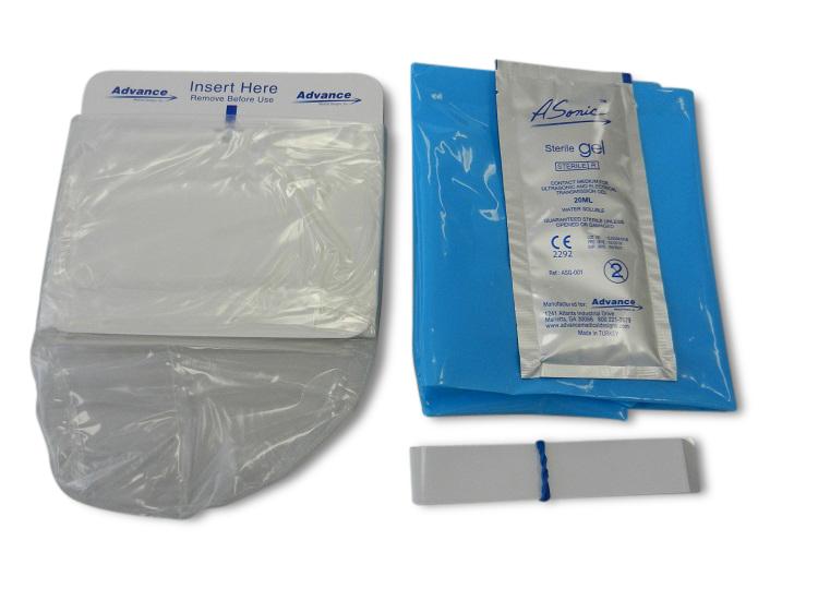 Ultra Sound cover + gel 13x122cm PE Ster