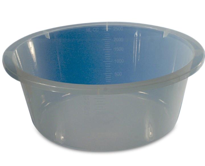 Cup/Gallipot 1000ml transparant steriel