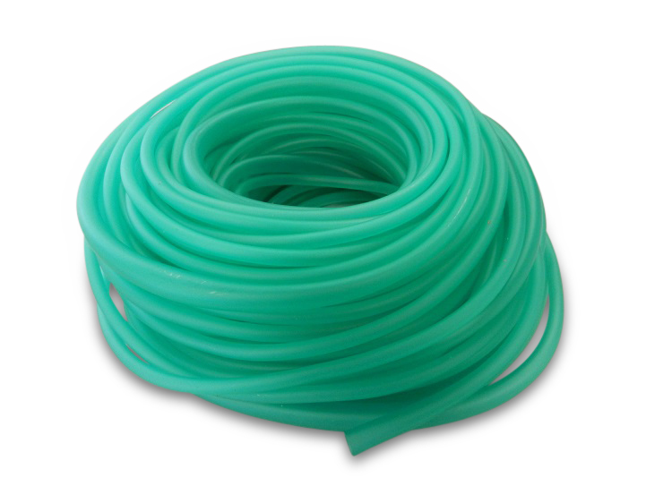 Bubbelslang groen 3,3 mm. 30 mtr.